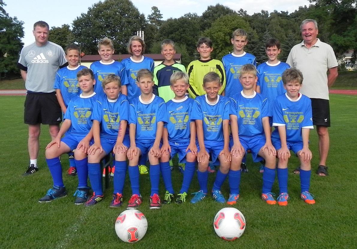Laager SV 03 D-Junioren 2013/2014