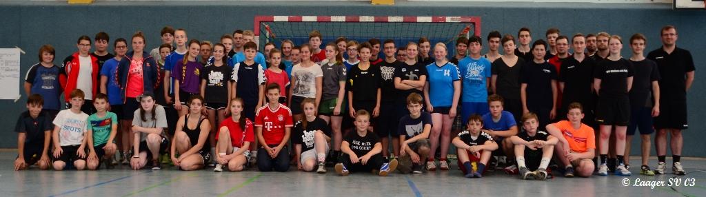 Handball Schiedsrichterlehrgang 06.07.14