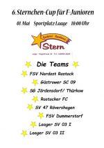 6. Sternchen-Cup für F-Junioren