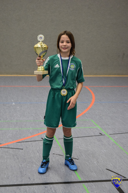 Lea bei den Landeshallenmeisterschaften Futsal