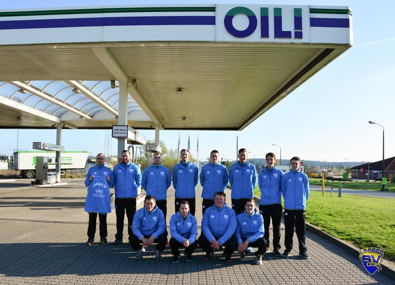 09.04.2017 Laager SV 03 Handball Männer - Sponsor OIL