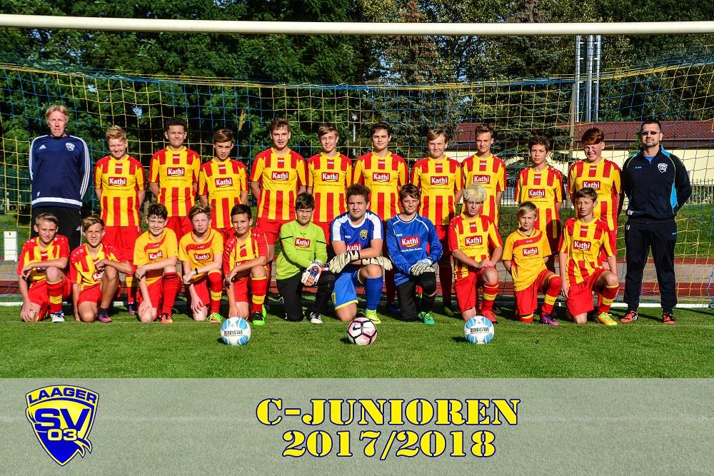 Laager SV 03 Fußball C-Junioren 2017/2018
