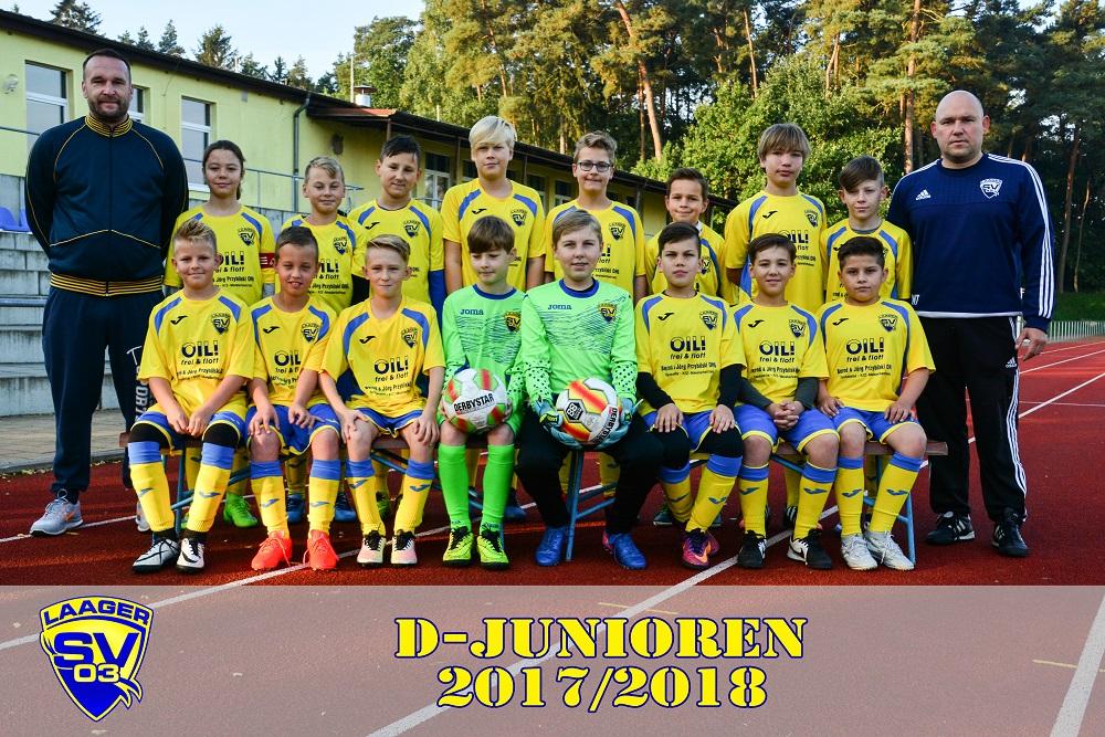 Laager SV 03 D-Junioren 2017/2018