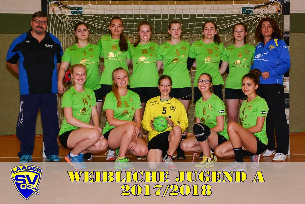 Laager SV 03 Handball weibliche Jugend A 2017/2018
