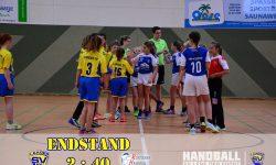 Laager SV 03 Handball wJD - Rostocker HandballClub Endstand