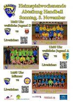 5. November – Handball-Sonntag