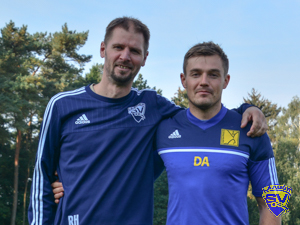 Laager SV 03 B-Junioren 2017-2018 Ralf Hecker & Danny Ahrens