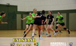 05.11.2017 Laager SV 03 Handball wJA - SSV Einheit Teterow