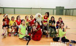 Laager SV 03 Handball wJD - Weihnachtsmann