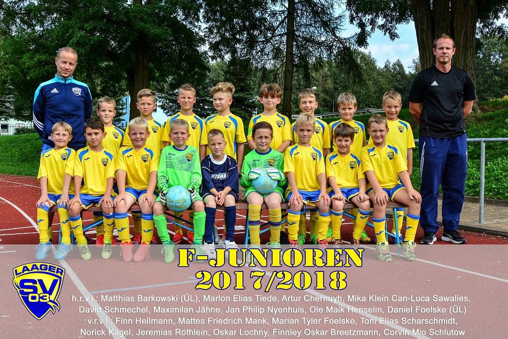 Laager SV 03 F-Junioren 2017/2018