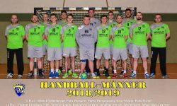 Laager SV 03 Handball Männer 2018/2019