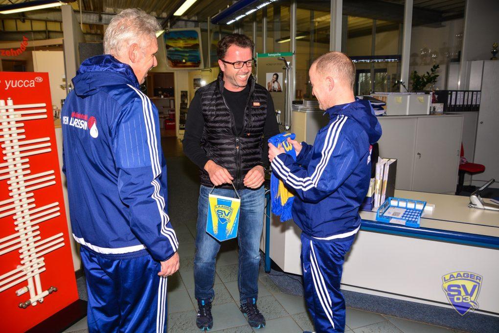 20190221 Übergabe Taschen Übungsleiter, Laager SV 03, Larsson Laage