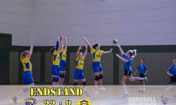 20190223 Laager SV 03 Handball wJD - SV Pädagogik Rostock