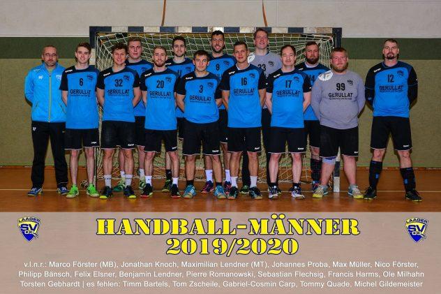 Laager SV 03 Handball Männer - 2019/2020