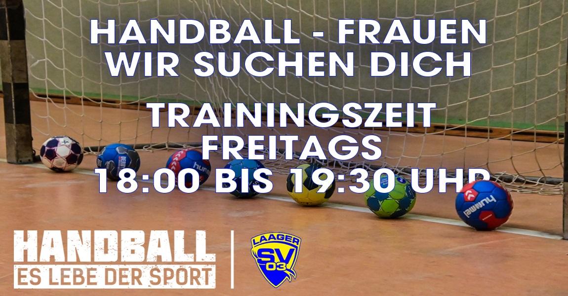 Frauen-Handball in Laage?