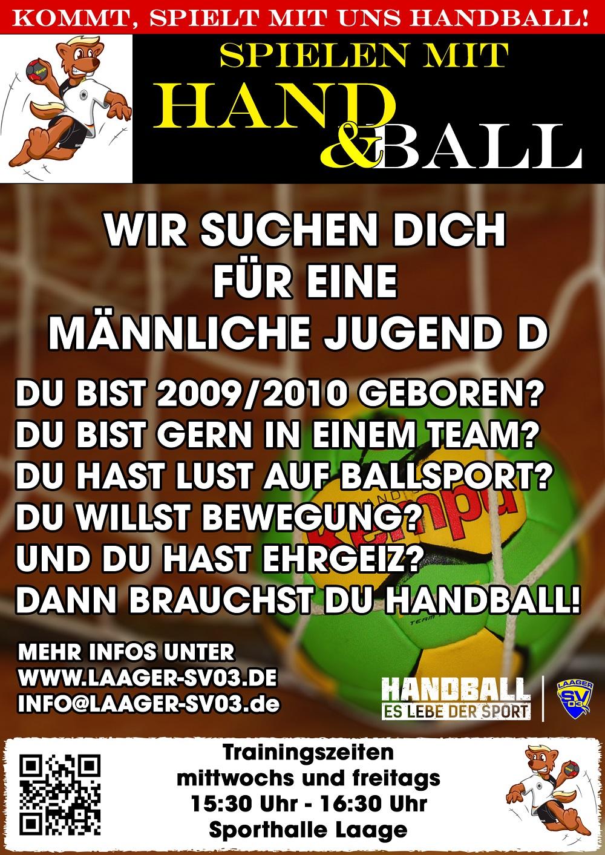 Handball männliche Jugend D