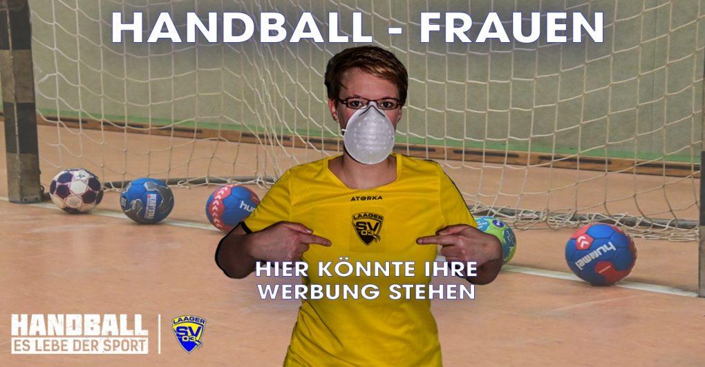 Laager SV Handball Frauen - Werbung