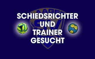 Werde Schiedsrichter oder Trainer!