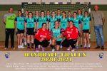 Handballerinnen in neuen Trikots
