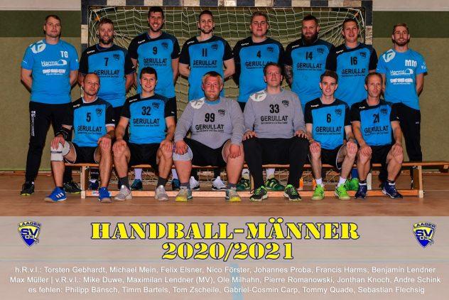 Laager SV 03 Handball Männer - 2020/2021